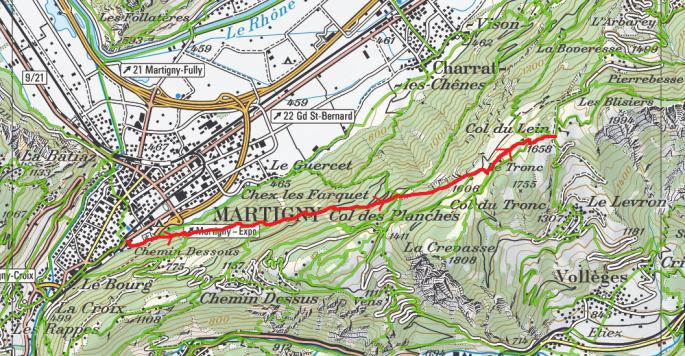 Martigny-Col du Lein