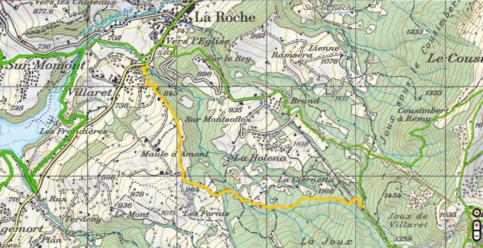 La Roche-La Berra-Travaux