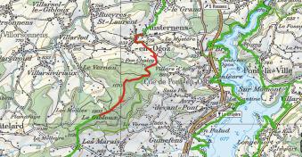 Le Gibloux depuis Vuisternens-en-Ogoz